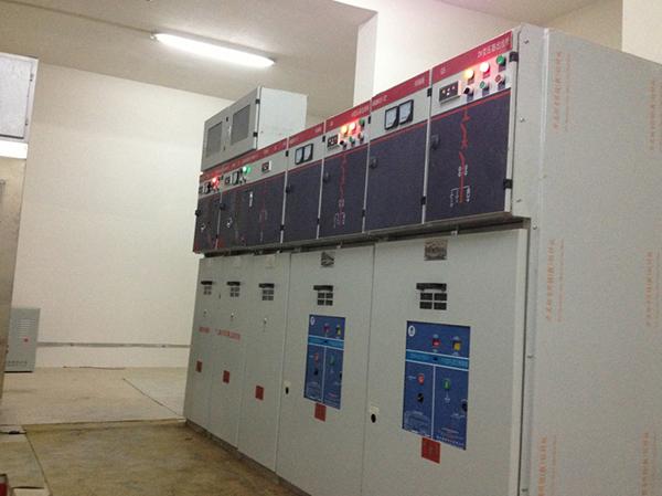 康典佳园小区室外配电工程 配电柜