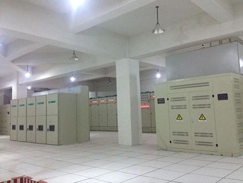 大理洱海国际生态城1~4#楼配电安装工程1